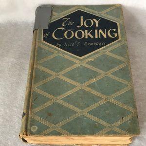 1946 Vintage Joy of Cooking Hardback Cookbook